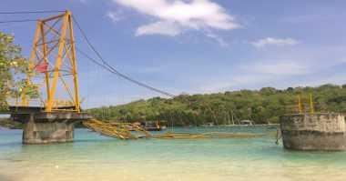 Polda Bali Akan Gelar Perkara Robohnya Jembatan Kuning