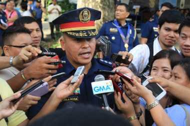 Tabrak Demonstran, Kepala Polisi Filipina Skors Anggotanya