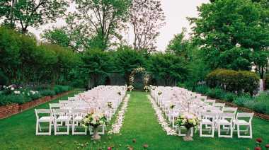 Ini yang Harus Diperhatikan Jika Ingin Menghelat Pernikahan Outdoor