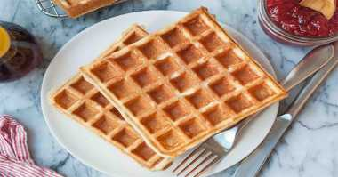 Ini Cara Bikin Waffle yang Renyah & Enak