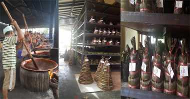 Mengintip Pabrik Kue Keranjang, Kue Lambang Kemakmuran