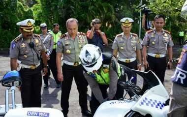 Kakorlantas Pastikan Kesiapan Pasukan dan Kendaraan di Sidang Umum Interpol