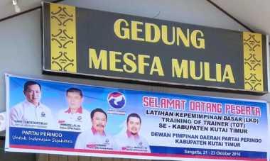 DPD Perindo Kutai Timur Gelar TOT dan LKD