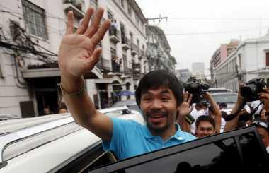 Jelang Jumpa Vargas, Pacquiao Berangkat ke Los Angeles Besok