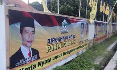 Spanduk Jokowi Capres Golkar 2019 Bertebaran di Semarang, Apa Reaksi PDIP?
