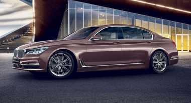 BMW Seri 7 Bernuansa Mawar untuk Negeri Sakura