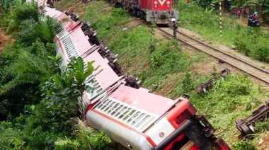 Korban Tewas Akibat Kereta Anjlok Kamerun Mencapai 73 Orang