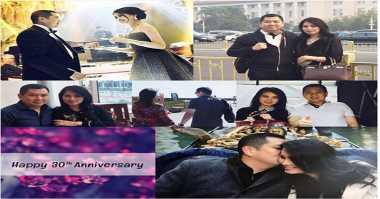 Ulang Tahun Pernikahan ke-30 Hary Tanoe dan Liliana Tanoesoedibjo, Netizen Beri Selamat & Doakan Kelanggengan