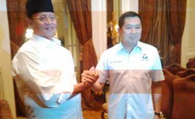 Cagub Banten Wahidin Halim Sowan ke Kediaman Hary Tanoe