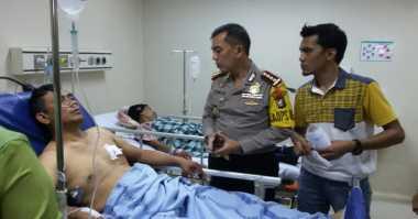 Kondisi Kapolsek dan Polantas Korban Serangan Terduga ISIS Membaik