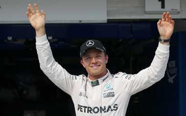Rosberg Tercepat, Hamilton Dikalahkan Ricciardo di FP2 GP Amerika Serikat