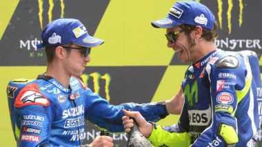 Vinales Tak Pungkiri Bisa Geser Rossi di Klasemen MotoGP 2016