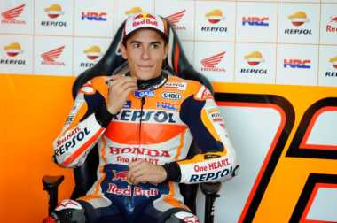 Unggul di Lintasan Kering, Marquez Menjadi yang Tercepat di FP3