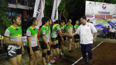 Turnamen Voli HT CUP 1 Kota Mojokerto Diharapkan Cetak Atlet Berbakat