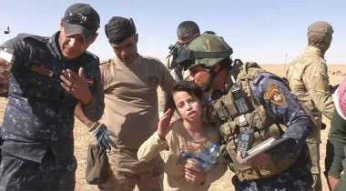 Ini Video Bocah Perempuan Bersyukur Diselamatkan dari Cengkraman ISIS