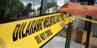 Lokasi Ledakan Bekasi Dipasang Police Line