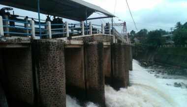 Bogor Diguyur Hujan, Bendung Katulampa Siaga IV