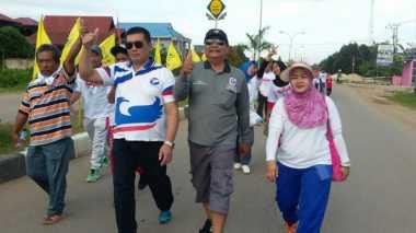 4.000 Warga Jalan Sehat Bersama DPD Perindo Kutai Timur