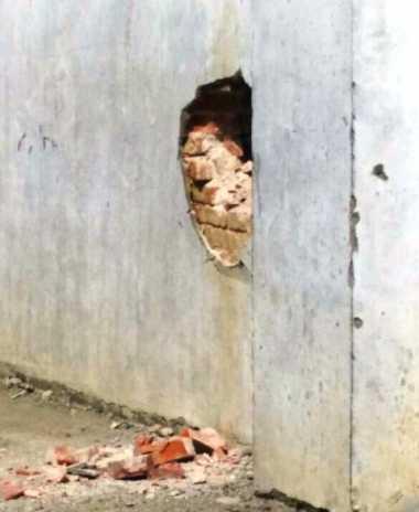 Ledakan di Lapas Lhokseumawe karena Bom Rakitan