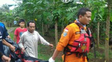 Hanyut di Sungai Cirapuan, Bocah Lima Tahun Ditemukan Tewas
