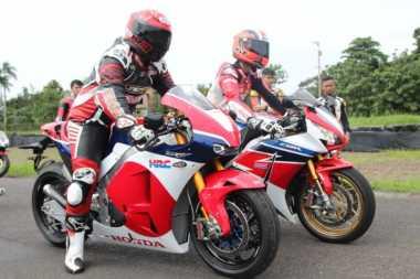 71 Orang Terpilih Jajal Prototipe Motor Marc Marquez di Sentul