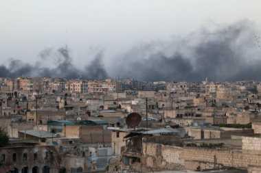 Balas Tembakan Roket, Jet Tempur Israel Serang Gaza