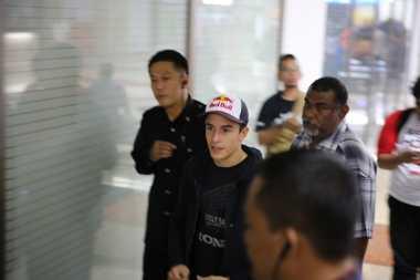 Mendarat di Soekarno-Hatta, Marc Marquez Siap Sapa Fans Indonesia
