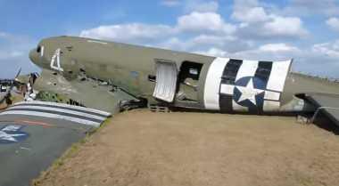 Bangkai Pesawat Perang Dunia II Ditemukan di Rusia