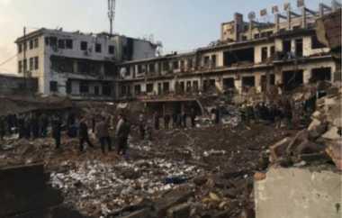 Ledakan Besar di China Tewaskan 7 Orang dan Lukai 94 Lainnya