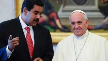 Presiden Venezuela Mendadak Kunjungi Paus Fransiskus di Vatikan