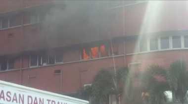 Korban Kebakaran RS di Johor Bahru Berusia di Atas 50 Tahun