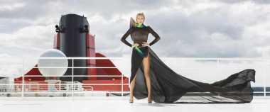 Wow! Ini Pagelaran Fashion Show Termegah di Atas Laut
