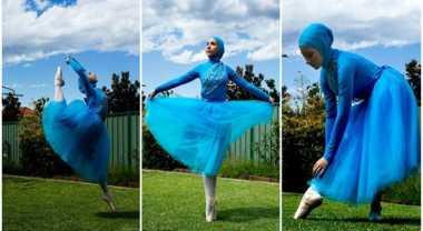 HOT THREAD (1): Gadis Ini Menjadi Balerina Berhijab Pertama di Dunia