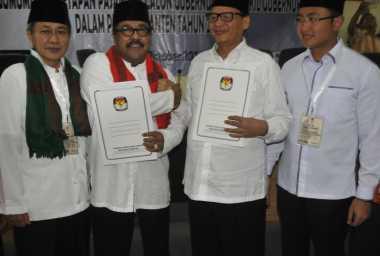 576 Polisi Jaga Tempat Pengundian Nomor Urut Cagub Banten