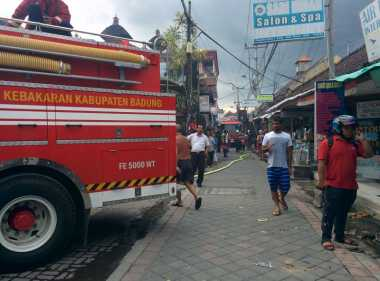 Percikan Api Tukang Las Diduga Jadi Pemicu Kebakaran Tempat Spa di Bali