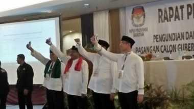 Begini Mekanisme Pengambilan Nomor Urut Peserta Pilgub Banten