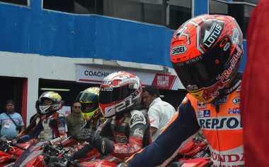 Para Rider Muda Indonesia Senang Bisa Balapan dengan Marquez