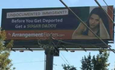 Papan Iklan di Texas Tawarkan 'Sugar Daddy' untuk Pengungsi