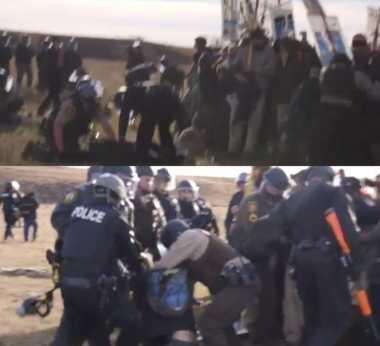 Polisi North Dakota Tangkap 120 Pengunjuk Rasa dan Jurnalis