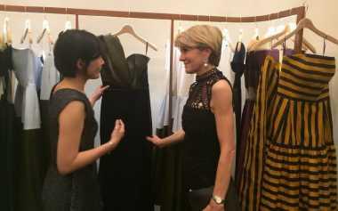 Menteri Luar Negeri Australia Blusukan di Jakarta Fashion Week 2017