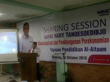 Hary Tanoesoedibjo: Sukses Itu Harus Dibangun