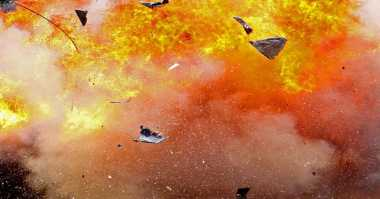 Ledakan di Depan Kuta Square Akibat Trafo Kelebihan Beban
