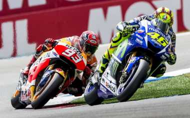 Jika Tak Alami Masalah, Rossi Berpotensi Menang di Silverstone, Misano dan Aragon