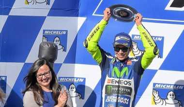 Valentino Rossi Ngaku Beruntung Finis di Posisi Dua GP Australia