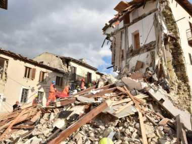 Italia Diguncang Gempa Bumi Berkekuatan 5,4 SR