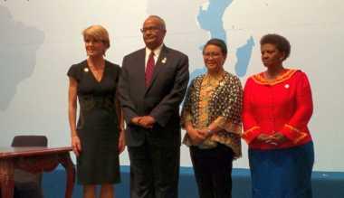 Menlu Australia Dukung Indonesia Jadi Anggota Dewan Keamanan PBB