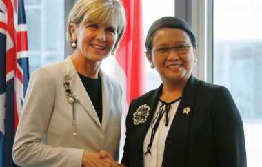 Ini Ucapan Bela Sungkawa Menlu Australia Julie Bishop kepada Menlu Retno