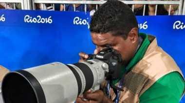 Ini Video Aksi Fotografer Buta Abadikan Paralympics Rio