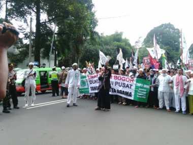 Demo Tolak Ahok Terjadi di Bogor