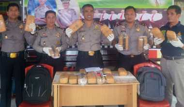 Bawa Ganja 20 Kg Bernilai Rp60 Juta, Dua Pemuda Asal Aceh Diringkus